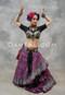 25 Yard Magenta Printed Tribal Skirt