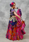 Extra Full Tiered Tribal Belly Dance Skirt