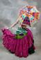 Hot Pink 25 Yard Tribal Skirt