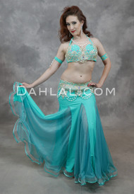 Radiant Oasis Egyptian Belly Dance Costume