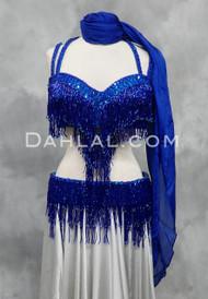 BEYOND THE BASICS III- Royal Blue, Bra Size DD/E, By Designer Rising Stars
