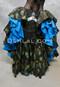 tribal print belly dance skirt