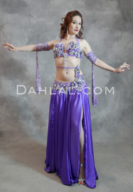 purple Egyptian costume
