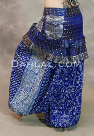 Earthly Essence Royal Blue Harem Pant