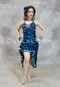 Teal Choli Dress