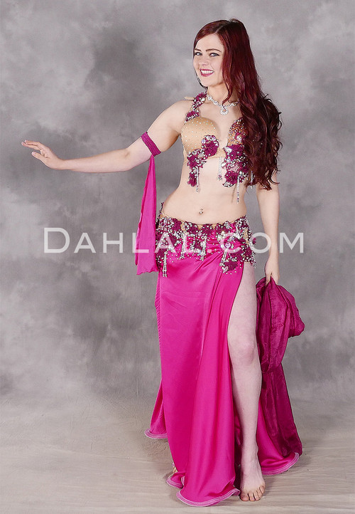 La Femme La Rose Egyptian Beaded Costume