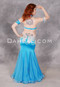 Back view of Radiant Oasis belly dance bra and skirt