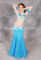 Full view of Radiant Oasis, a high-quality belly dance costume