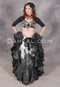 Faux Assuit tribal belly dance costume from Dahlal Internationale