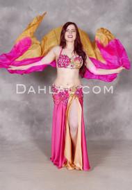 Shown with Matching Gradient Silk Veil