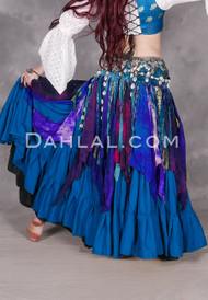 Tie- Dyed Handkerchief Overskirt