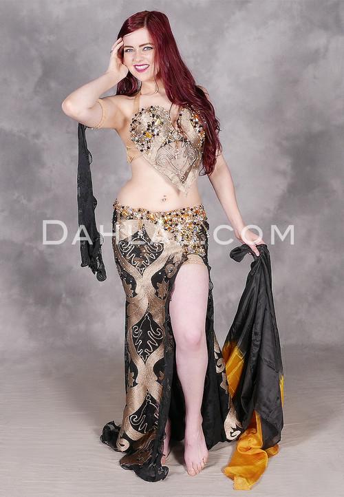 Nile Goddess belly dance costume