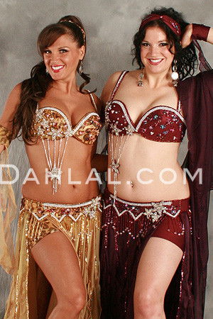 FLIRTY FLAIR II in Eggplant by Pharaonics of Egypt, Egyptian Belly Dance Costume image