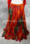 Dynasty VI Tie-dye Chiffon Circle Skirt