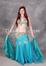 Turquoise Treasure Egyptian costume