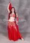 Ruby Reverie Egyptian bellydance costume