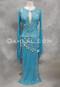 turquoise assuit dress