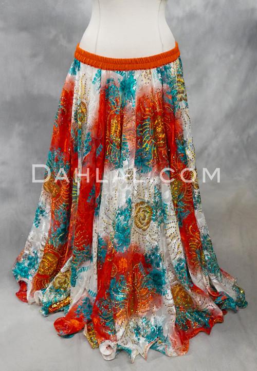 chiffon skirt for bellydance
