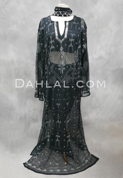 black assuit cover up