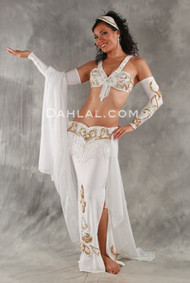 ENCHANTMENT by Pharaonics of Egypt, Egyptian Belly Dance Costume, Available for Custom Order