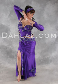 STAR OF THE SHOW by Pharaonics of Egypt, Egyptian Belly Dance Costume, Available for Custom Order