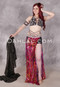 Wildfire Egyptian Beaded Costume by Mamdouh Morise
