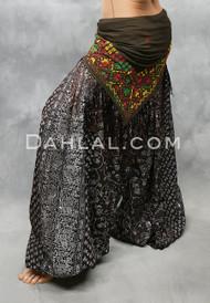 Chocolate Maharani Printed Harem Pant