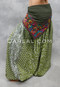 Olive Maharani Printed Harem Pant