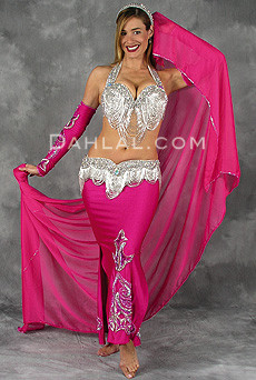 GREAT LOOP by Pharaonics of Egypt, Egyptian Belly Dance Costume, Available for Custom Order image