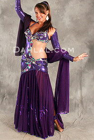 ENIGMA by Pharaonics of Egypt, Egyptian Belly Dance Costume, Available for Custom Order