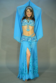 ARABIAN PRINCESS by Pharaonics of Egypt, Egyptian Belly Dance Costume, Available for Custom Order