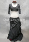 Full Length View Shown With A Faux Assuit Tribal Tiered Skirt