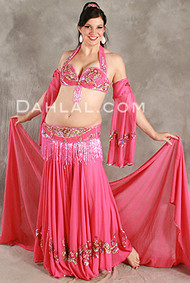 EGYPTIAN EMPRESS by Pharaonics of Egypt, Egyptian Belly Dance Costume, Available for Custom Order