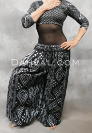 Full Front View with Faux Assuit Choli