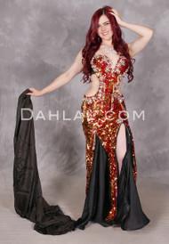 Garnet Glamour Egyptian costume