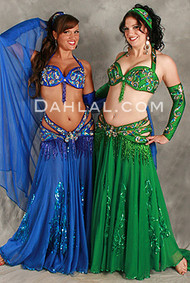 TEMPEST by Pharaonics of Egypt, Egyptian Belly Dance Costume, Available for Custom Order