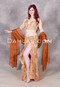 Burnished Beauty Bronzed Beaded Egyptian Costume