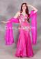 pink bellydance dress