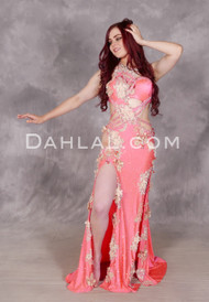 pink Egyptian bellydance dress