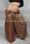 Sable Leather Double Pocket Belt
