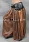 Black Leather Double Pocket Belt