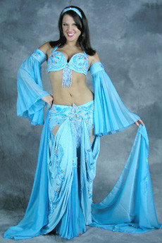 MOORISH PRINCESS by Pharaonics of Egypt, Egyptian Belly Dance Costume, Available for Custom Order image