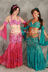 1001 NIGHTS by Pharaonics of Egypt, Egyptian Belly Dance Costume, Available for Custom Order