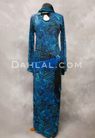 turquoise Saidi dress