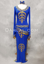 Sahara Nights royal blue dress