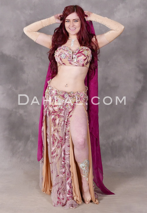 Blossoming Romance Egyptian costume
