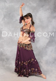 SPANISH SWEETHEART by Pharaonics of Egypt, Egyptian Belly Dance Costume, Available for Custom Order