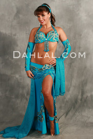 ARTISTIC EXPRESSIONS by Pharaonics of Egypt, Egyptian Belly Dance Costume, Available for Custom Order