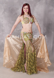 Starstruck Olive Beaded Egyptian Costume