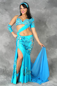 DESTINY by Pharaonics of Egypt, Egyptian Belly Dance Costume, Available for Custom Order image